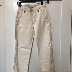 Teen boy European designer pants NWOT